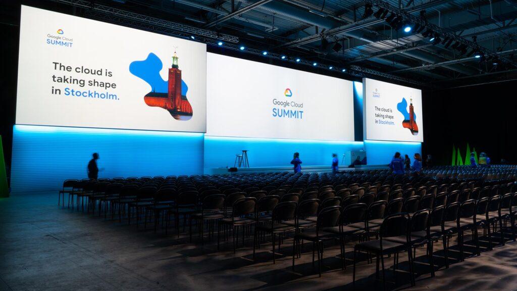 Adapt event för Google