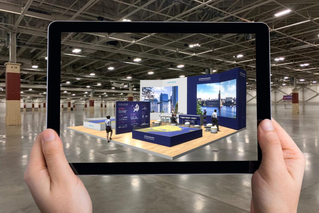3D-visualisering i form av Augmented reality