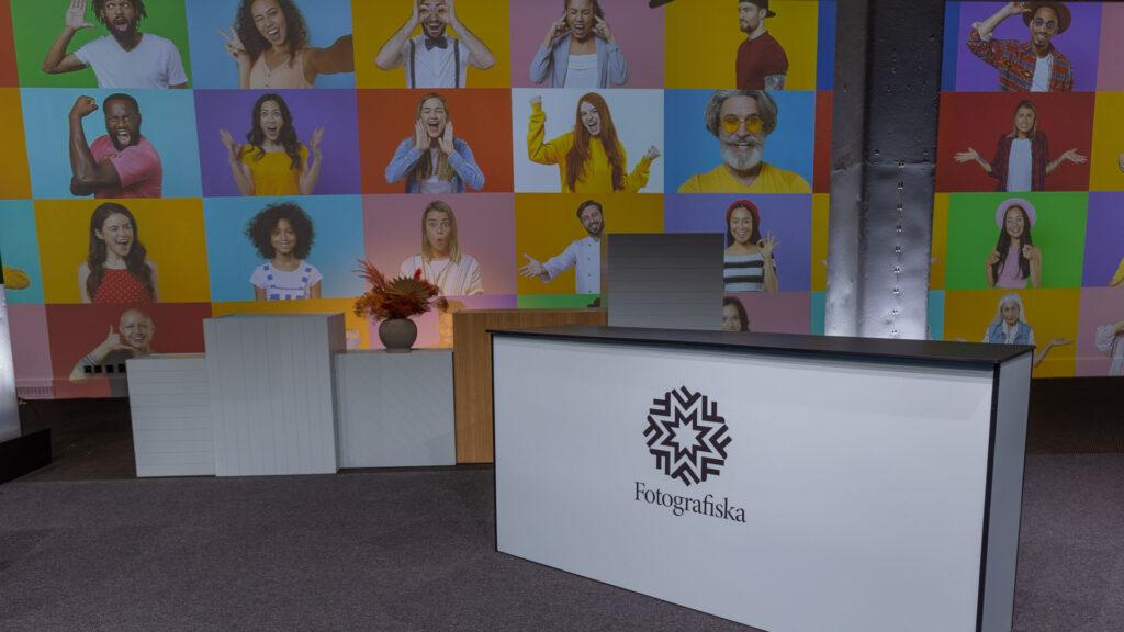 Studio för streaming, digitala event, livesändning