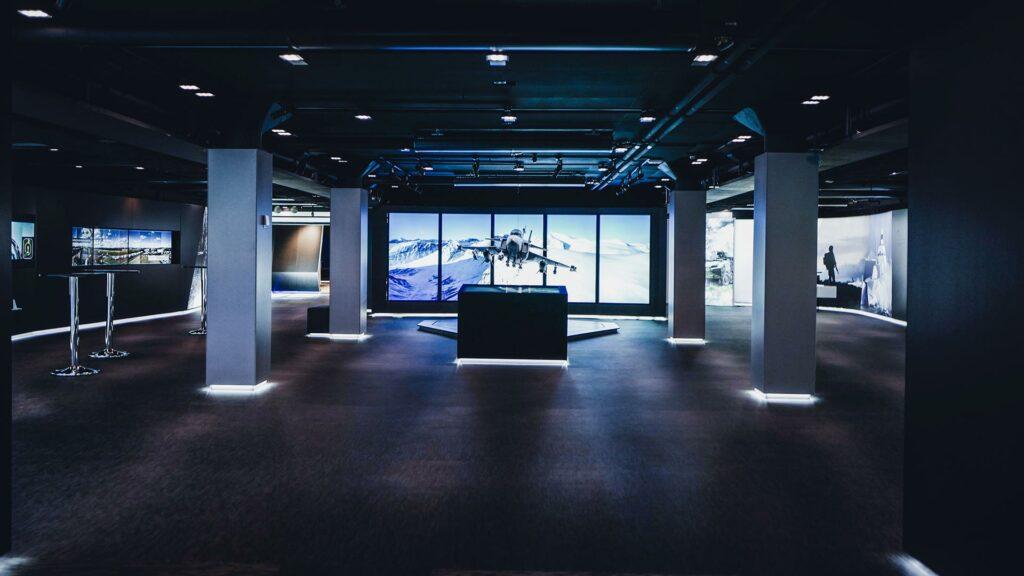 Showroom och eventlokal med tekniska lösningar